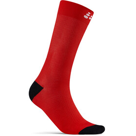 Craft Core Endure Fahrradsocken bright red/white